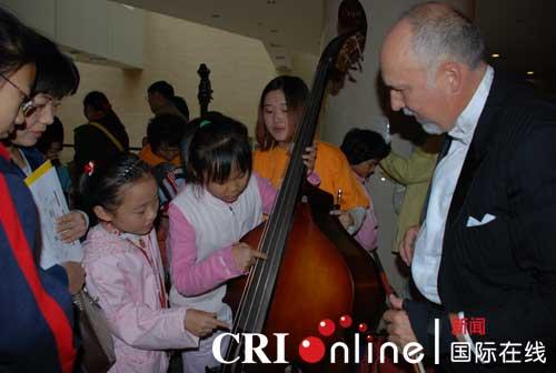温哥华交响乐团在北京举办儿童专场音乐会