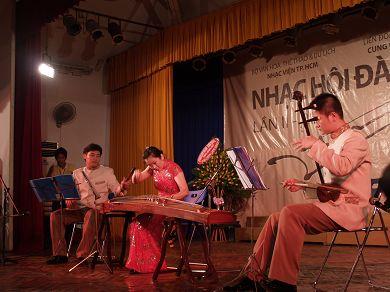 驻胡志明市总领事许明亮出席第二届亚洲古筝节开幕式
