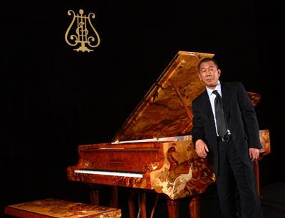 当钢琴之王遇上当代中国画