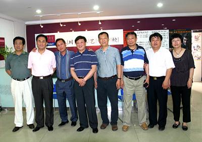 北京星海钢琴集团公司领导参观河北秦川乐器有限公司