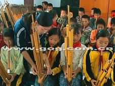 芦笙演奏进课堂