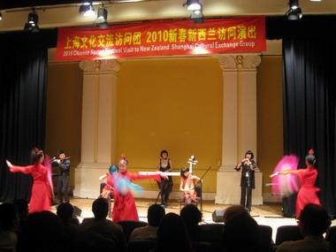 上海艺术团为惠灵顿欢乐春节活动压轴演出精彩圆满