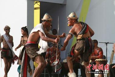 马达加斯加传统仪式表演精彩登场