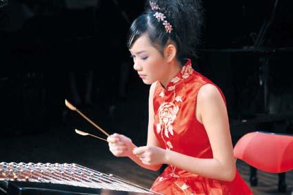 海南首场扬琴独奏音乐会 15岁林一荟奏响天籁之音