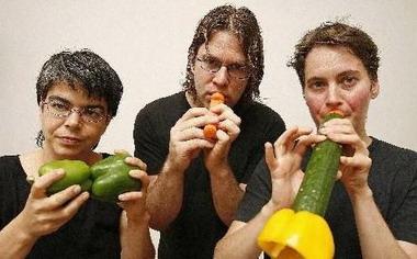 用蔬菜演奏美妙音乐(图)