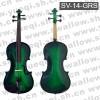 斯坦霍夫牌小提琴-1/4云杉木面板乌木配件手工绿色斯坦霍夫小提琴