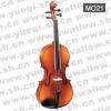 红棉M021型 云杉木面板移印虎斑纹仿乌木配件14寸普及中提琴