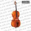 红棉C033型 云杉木面板虎纹枣木配件乌木指板1/2中高级大提琴
