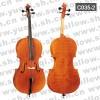 红棉C035型 云杉木面板虎纹乌木配件1/2高级大提琴