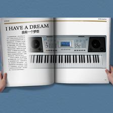 迷笛牌电子琴