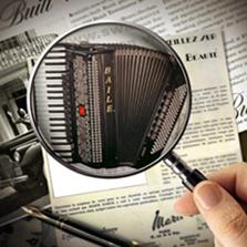 百乐牌手风琴