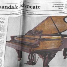 嘉德威牌钢琴