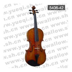 红燕5406-42高级云杉面板精选虎纹背板全乌木配件雕花高级16寸中提琴