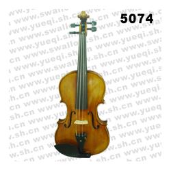 红燕牌小提琴-5074-B红燕小提琴-云杉木面板南料乌木配件4/4高级红燕小提琴