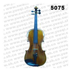 红燕牌小提琴-5075-B红燕小提琴-云杉木面板南料乌木配件4/4高级红燕小提琴