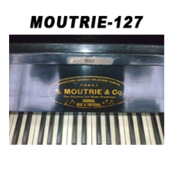 二手摩德利牌127高度古典全实木立式钢琴出租