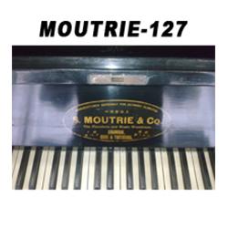 二手摩德利牌127高度古典全实木立式钢琴可出售