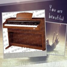 凯伦牌电钢琴