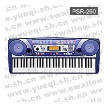 雅马哈牌电子琴-PSR-260雅马哈电子琴-61键雅马哈电子琴