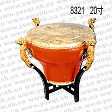 姑苏牌8321型20寸连架缸鼓